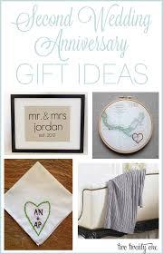 second anniversary gift ideas
