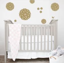 Dahlia Flower Wall Decals Baby Girl Nursery Another Bunch Of Dahlia Flowers Vinyl Wall Decal