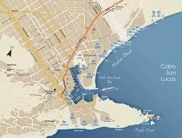 Map Cabo San Lucas
