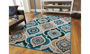 off on large area rugs brown modern