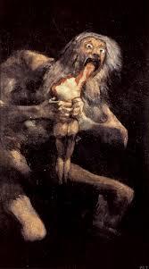 Resultado de imagen de pintura monstruo politico
