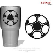 Soccer Customized Vinyl Decals Great Gifts For Coaches Decals For Tumblers Cups Cars Trucks Glass Blocks La Vinyl Decals Glass Blocks Corrugated Plastic