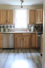 kitchen progress pergo flooring before