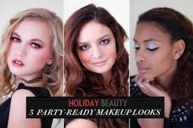 holiday party makeup 3 step by step