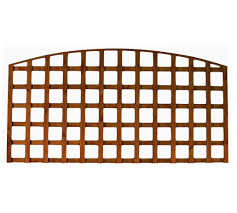 6 X 3 Arched Top Heavy Duty Trellis Panel Stockport Fencing