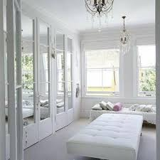 mirrored doors french closet emily
