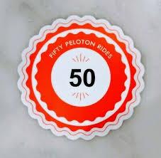 50 Peloton Rides Sticker Ebay