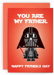 Tarjeta De Felicitacion Para El Dia Del Padre Star Wars Darth Vader Funny You Are My Father Happyfathersday Tarjeta De Felicitacion Para Papa Para El Joke Cardshit Best Card Shit
