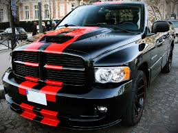 Decal Sticker Graphic Front To Back Stripe Kit Compatible With Dodge Ram Srt 1500 2500 3500 Ultimateprocy