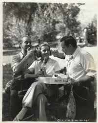 "IRENE DUNNE, MELVYN DOUGLAS & RICHARD BOLESLAWSKI in ""Theodora Goes Wild""  1936 | Irene dunne, Classic film stars, Hollywood pictures"