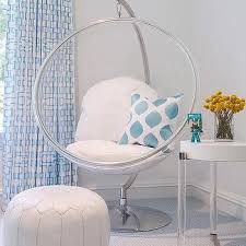 Kid Room Hanging Bubble Chair Design Ideas