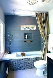 engaging blue grey bathroom paint