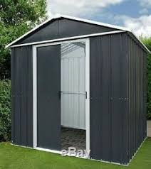 6x5 metal garden shed floor yardmaster