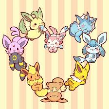 cute eeveelutions wallpapers top free