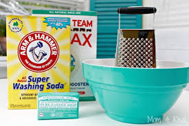 homemade baby safe laundry detergent