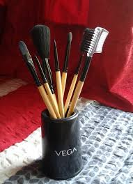 vega makeup brush set of 7 brushes
