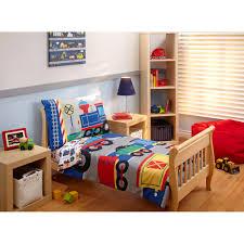 Everything Kids 4 Piece Choo Choo Train Toddler Bedding Set Walmart Com Walmart Com