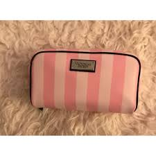 victorias secret pink stripe makeup