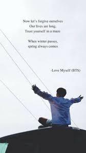 bts inspirational lyric quotes com