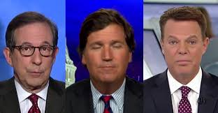 Chris Wallace and Shepard Smith: Quit Tucker Carlson's Fox News Now