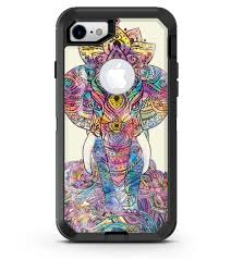 Zendoodle Sacred Elephant Iphone 7 Or 7 Plus Otterbox Defender Case Designskinz