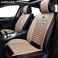 pu leather car seat cover for kia rio