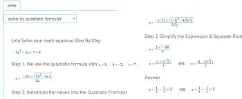 quadratic function calculator