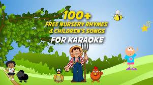 nursery rhymes and children s songs
