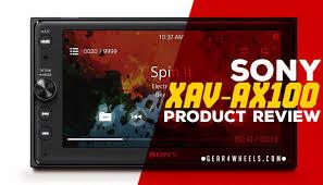 sony xav ax100 review