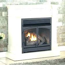 propane wall fireplace