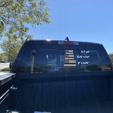 La Police Gear Xlarge Thin Blue Line Us Flag 6 75 X 3 5 Sticker