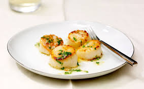 Scallops with Garlic-Parsley Butter ...