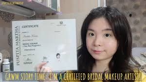 certified bridal makeup artist