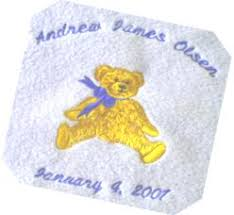 custom embroidery personalized gifts