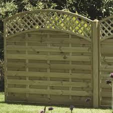 Arched Lattice Top Panel Hartwells Fencing