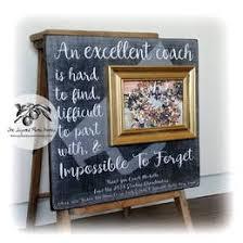 cheer coach frame collection gift ideas