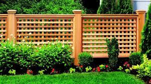 Creative Lattice Fence Ideas To Decorate Your Exterior