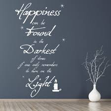 dumbledore inspirational quote harry potter wall sticker