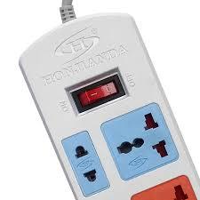 Ổ Cắm Điện Honjianda Loại 5 Ổ Có 2 Cổng USB - HJD-0436B-2U (Dây Dài 3m)
