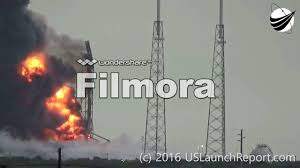 SpaceX Falcon 9 Explosion - Synced ...