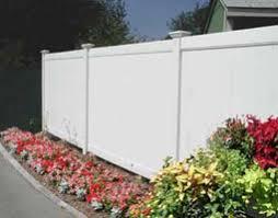 White Plastic Privacy Fence Vinyl Upvc Pvc