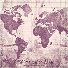 old world map background free vector