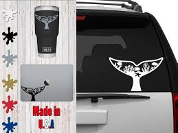 Nature Whale Tail Choose Your Size Car Decal Laptop Decal Mug Decal Tumbler Decal Cup Decal Phone Decal By Vei In 2020 Nature Scenes Phone Decals Tumbler Decal