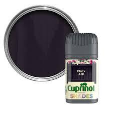 Cuprinol Garden Shades Black Ash Matt Wood Paint Tester Pot Departments Diy At B Q