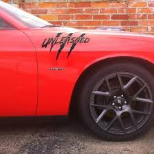 Dodge Challenger Rtrrripped Claw Marks Hood Etsy