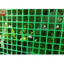 Green Plastic Garden Fence Mesh 1m Height Garden Wire Netting Fence Extrudedplasticnet