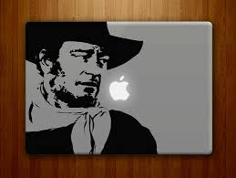 John Wayne Vinyl Sticker Decal 50 Westerns From The 50s