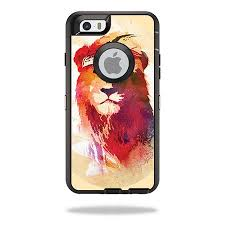 Skin Decal Wrap For Otterbox Defender Iphone 6 6s Gym Lion Walmart Com
