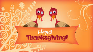 two turkeys wishing you happy