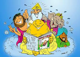 Cartoon Religionen 2015